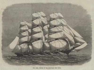The Ariel, Winner of the Ocean-Race from China by Edwin Weedon