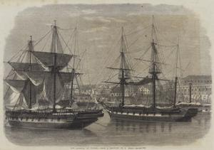 The Arsenal at Naples by Edwin Weedon