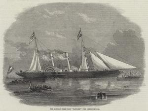 The Austrian Steam-Yacht Fantasie by Edwin Weedon
