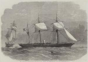 The Confederate Sloop-Of-War 290, or Alabama, Leaving the Merchant-Ship Tonowanda by Edwin Weedon