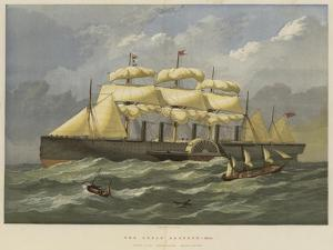The Great Eastern, Afloat by Edwin Weedon