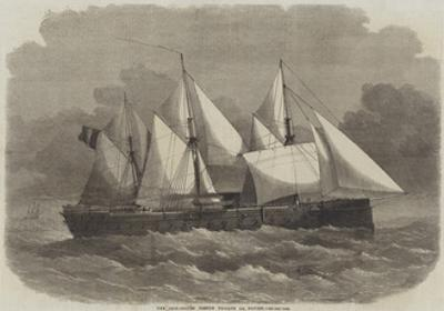 The Iron-Coated French Frigate La Gloire by Edwin Weedon