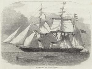 The New Colonial Steam War-Sloop Victoria by Edwin Weedon