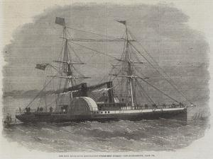 The New Hong-Kong and Canton Steam-Ship Nurgis by Edwin Weedon
