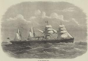 The New Steam-Ship Egypt by Edwin Weedon