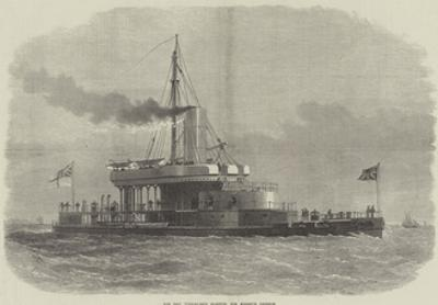 The New Turret-Ship Glatton, for Harbour Defence by Edwin Weedon