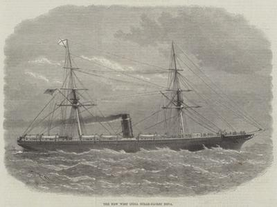 The New West India Steam-Packet Neva by Edwin Weedon