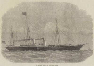 The Prince of Wales's New Steam-Yacht Osborne by Edwin Weedon