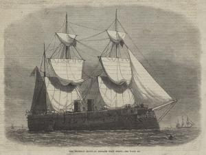 The Prussian Ironclad Frigate Kron Prinz by Edwin Weedon