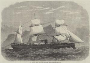 The Serapis, New Troop-Ship for the Indian Service by Edwin Weedon