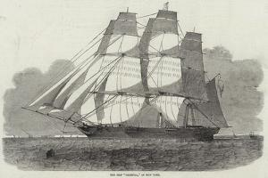 The Ship Oriental, of New York by Edwin Weedon