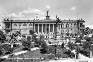 The Palacio De Gobierno, Lima, Peru, Early 20th Century by EE Barros