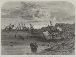 Effects of the Cyclone at Calcutta on 5 October