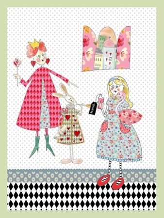 Alice in Wonderland by Effie Zafiropoulou