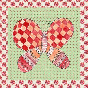 Butterfly Tile by Effie Zafiropoulou