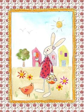 Easter Bunny with Egg by Effie Zafiropoulou