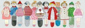 Fairytale Character Dolls by Effie Zafiropoulou