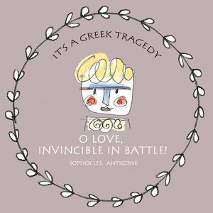 Greek Tragedy E by Effie Zafiropoulou