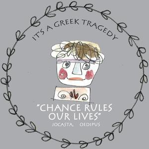 Greek Tragedy F by Effie Zafiropoulou