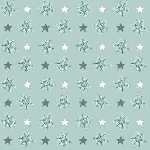 Pattern Flakes&Stars by Effie Zafiropoulou