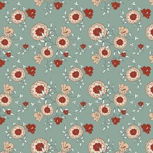 Pattern Jasmin Flowers by Effie Zafiropoulou