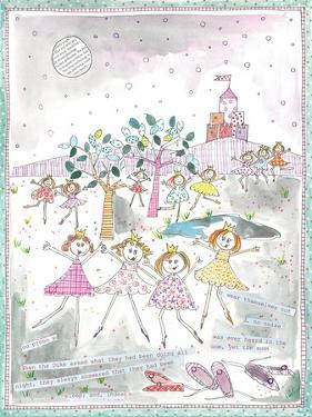 The Twelve Dancing Princesses by Effie Zafiropoulou