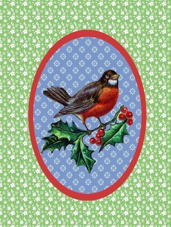 Vintage Christmas Robin
