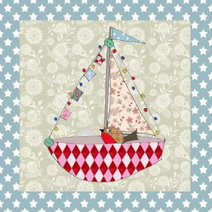 Xmas Boat by Effie Zafiropoulou