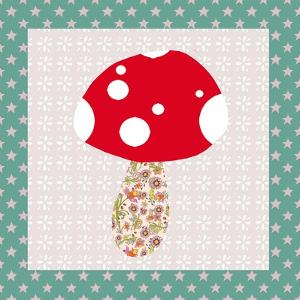 Xmas Mushroom by Effie Zafiropoulou