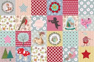 Xmas Patchwork by Effie Zafiropoulou