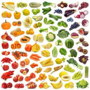 Collection Of Fruits And Vegetables by egal