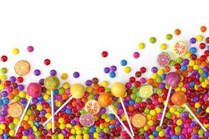 Mixed Colorful Sweets close Up by egal
