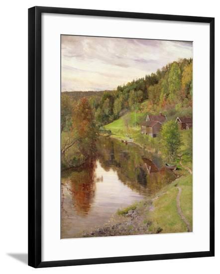 Eggedal-Christian Skredsvig-Framed Giclee Print