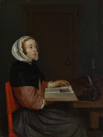 The Reader by Eglon Hendrick van der Neer