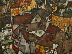 A Village by Egon Schiele