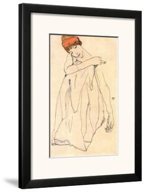 Die Tanzerin by Egon Schiele
