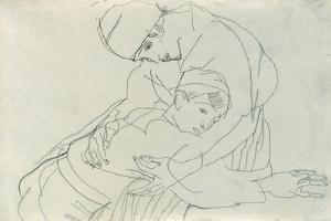 Embrace, 1914 by Egon Schiele