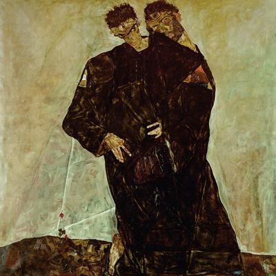 """Eremiten"" (Hermits) Egon Schiele and Gustav Klimt"