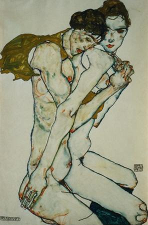Friendship by Egon Schiele