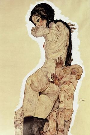 Mother and Child, 1910 by Egon Schiele