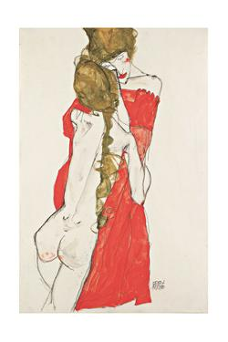 Mother and Daughter, 1913 by Egon Schiele