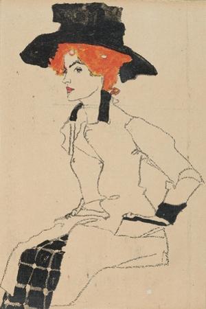Portrait of a Woman, 1910 by Egon Schiele