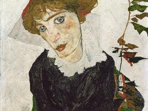Portrait of Wally Neuzil, 1912 by Egon Schiele