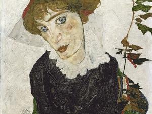 Portrait of Wally Neuzil by Egon Schiele