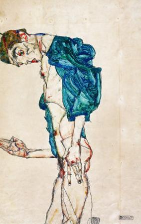 Preacher (Self-Portrait), 1913 by Egon Schiele
