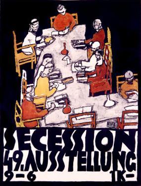 Secession, 49 Asstellung by Egon Schiele