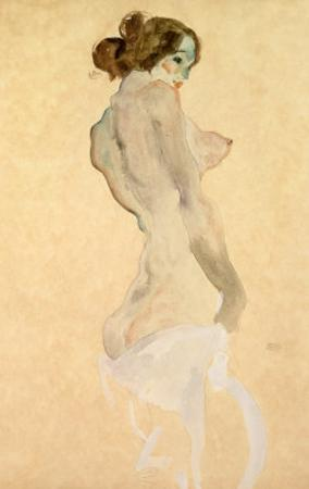 Standing Female Nude, 1912 by Egon Schiele