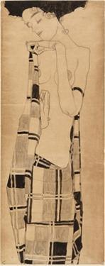 Standing Girl, C.1908-09 by Egon Schiele