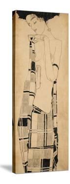 Standing Girl by Egon Schiele