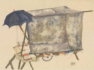 Street Cart, 1914 by Egon Schiele